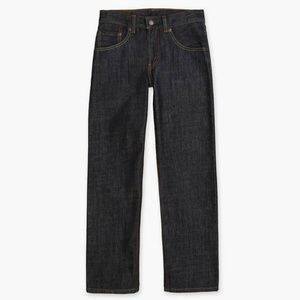 LEVI'S Boys' 505 Straight Fit Jeans Armor Size 16